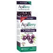 Natrol Acai-Double Strength Acai Berry 1200mg, 60ct