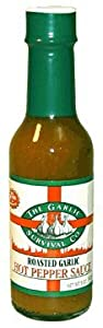 The Garlic Survival Co Roasted Garlic Hot Pepper Sauce by The Garlic Survival Co