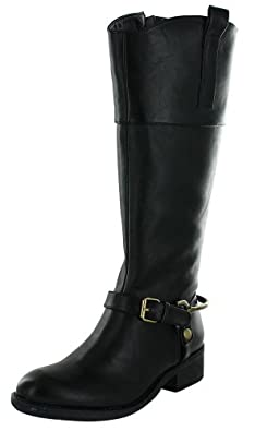 Very Volatile Addict Women's Riding Boots Knee High Black Size 6