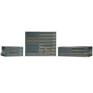 Cisco Catalyst 2960-24PC-L Ethernet Switch with PoE - 2 x SFP (mini-GBIC) - 24 x 10/100Base-TX, 2 x 10/100/1000Base-T - WS-C2960-24PC-L-RF