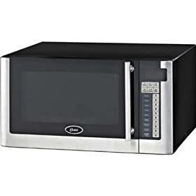 Oster AM1180 1.1' Cubic Foot Microwave (Silver)