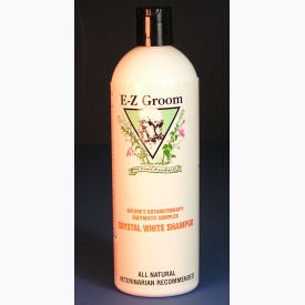 E-Z Groom - Crystal White Enzyme Shampoo, 16 oz