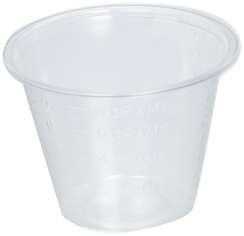 1 Oz. Plastic Medicine Cups Medline 1fl. Oz. Polypropylene Plastic Medicine Cups, Sleeve of 100 (1 Oz Plastic Cups compare prices)