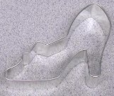LADIES SHOE Cookie Cutter Metal