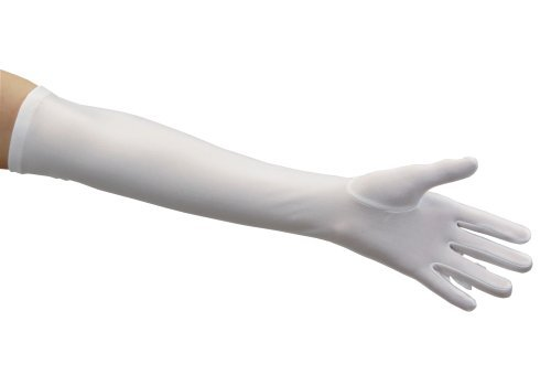 Adult White Over-the-elbow Gloves