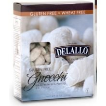 Delallo Gluten Free Potato and Rice Gnocchi, 12 Ounce -- 6 per case.