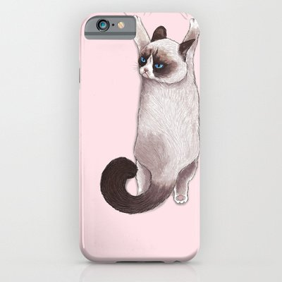 society6(ソサエティシックス) iPhone6(4.7インチ)ケースグランピーキャット Grumpy Hang並行輸入品