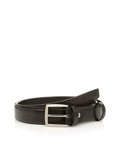 E4 Cintura Pelle 14480 [Nero]