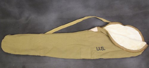 U.S. WWII Fleece Lined M1 Garand Rifle Case - Marked U.S.