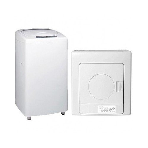 Haier 1.5-Cu. Ft. Capacity Portable Washer With Electric Dryer Combination