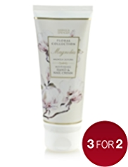 Floral Collection Magnolia Hand & Nail Cream 100ml