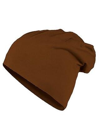 MasterDis Mütze KMA Jersey Beanie, Farbe: braun