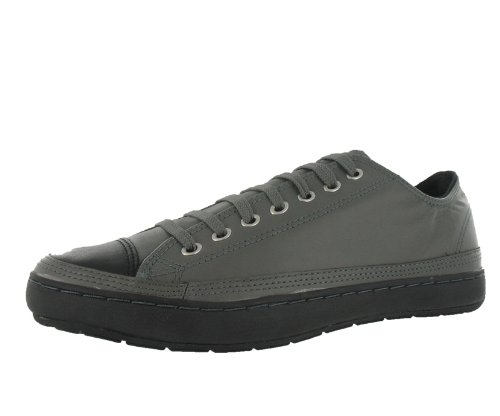 d9c4bfe107fc Converse Men s All Star Chuck Taylor Premiere Leather Ox Casual Shoe Black  Gray (11)