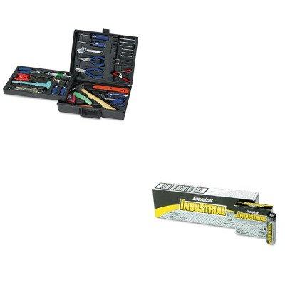Kiteveen91Gnstk110 - Value Kit - Great Neck 110-Piece Home/Office Tool Kit (Gnstk110) And Energizer Industrial Alkaline Batteries (Eveen91)