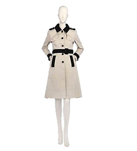 Kate Spade Madison Ave Womens Ludford Alabaster Trench Coat, 6