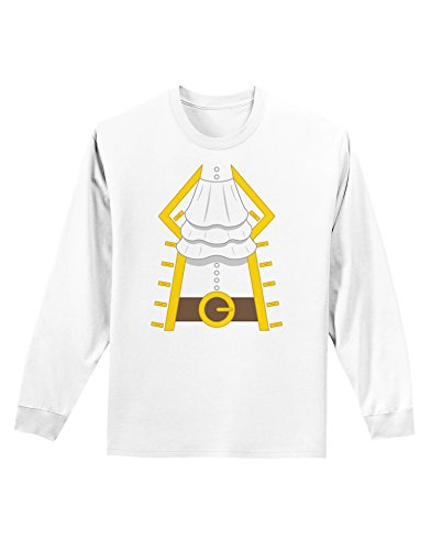 Pirate Captain Costume Gold Adult Long Sleeve Shirt