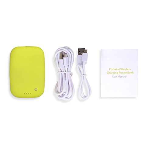 Qi-Infinity-4000mAh-Power-Bank-(With-Qi-Receiver-Charger)