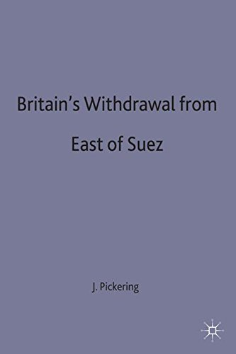 Britain's Withdrawal From East of Suez (Contemporary History in Context)