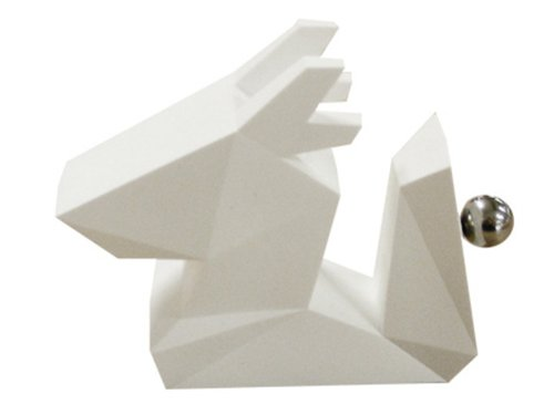 [Design Apt] ZOORIGAMI Dragon origami wind Dragon card stand photo stand/memo clip/card holder/white