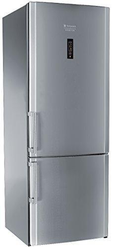 Hotpoint E2BYH 19323 F O3 Libera installazione 357L 99L A++ Acciaio inossidabile frigorifero con congelatore