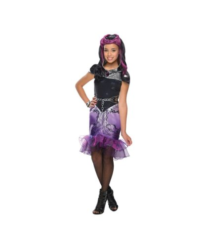 Ever After High Raven Queen Girls Costume Malefic Queen Fairy Tale