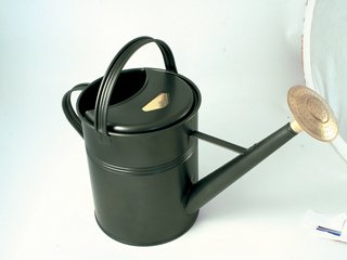Haws Traditional 'Peter Rabbit' 8.8-litre Metal Watering Can, Green