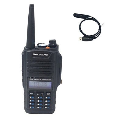 GG BF-A58 WATERPROOF ANTI DUST TWO WAY RADIO 136-174/ 400-520MHZ WATERPROOF Radio+USB Programming Cable , il adapter