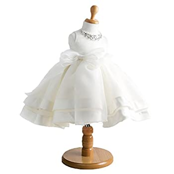Girls' Vintage Style Satin Tulle Flower Girl Pageant wedding Dress