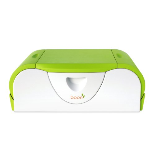 Boon Potty Bench Training Toilet with Side Storage, Kiwi