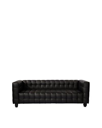 Kardiel Josef Mid-Century Modern Sofa, Black