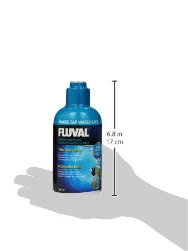 Fluval water conditioner for aquariums 16 9 ounce animals for Water conditioner for fish