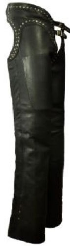 First MFG Women's Low Rise Leather Chaps With