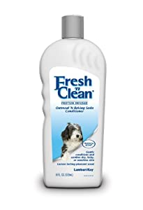 Lambert Kay Fresh'n Clean Oatmeal n Baking Soda Pet Conditioner, 18-Ounce