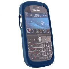 BlackBerry Skin Case for BlackBerry Bold 9000 (Blue)