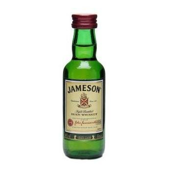 Jamesons Irish Whiskey 5cl Miniature by Jameson