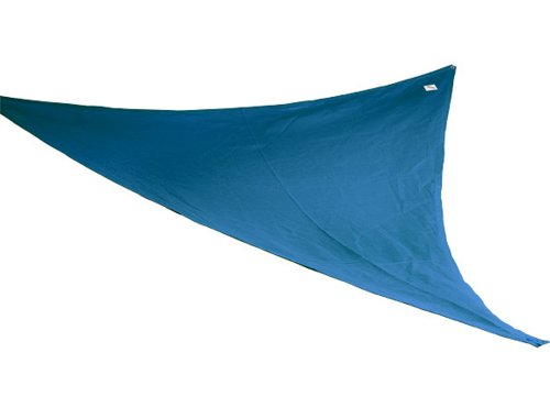 Coolaroo Party Sail 9 Feet 10 Inch Triangle - Blue