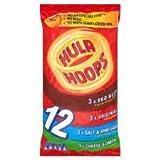 KP Hula Hoops Classic Snacks 12 X 25G