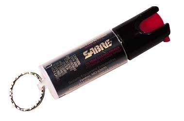Sabre Spray Key Ring Unit .54Oz Sabre Spray Key Ring Unit .54Oz
