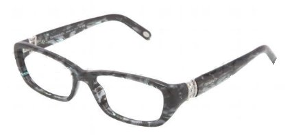 TIFFANY Eyeglasses TF 2069B 8129 Gray Havana