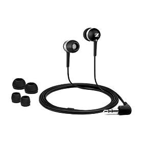 Amazon - Sennheiser CX300-B Earbuds in Black - $21.13