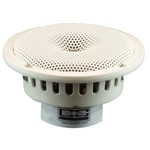 """Dc Gold Audio N5R 5.25"""" Reference Series Speakers - 8 Ohm - (Pair) White"""