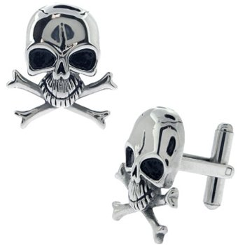 Silver Cufflinks 316l Stainless Steel,pvd Black & Silver, cufflinks for men
