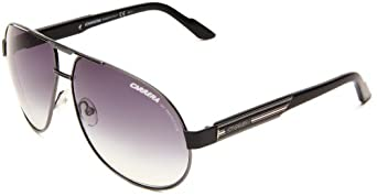 Carrera Daytona 1/S Aviator Sunglasses,Dark Ruthen & Black Frame/Grey Gradient Lens,One Size