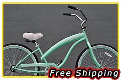 Free Shipping! Fito Modena Sport 1-speed Women - Mint Green, 26