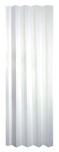 Wallscapes VS3280H Spectrum Via 24 to 36 by 80-Inch Accordion Folding Door, White