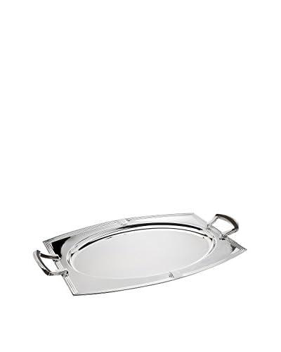 Ricci Flatware Art Deco Oval Handled Tray