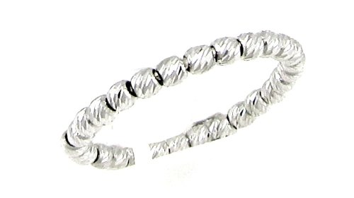 Officina Bernardi Silver 1-Row Stack Ring, Size 6