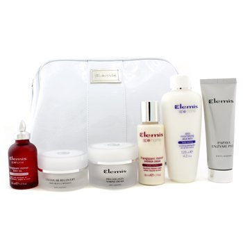 Superstars Holiday Kit: Enzyme Peel + Cellular Capsules + Marine Cream + Shower Cream + Milk Bath + Body Oil + Bag 6pcs+1bag
