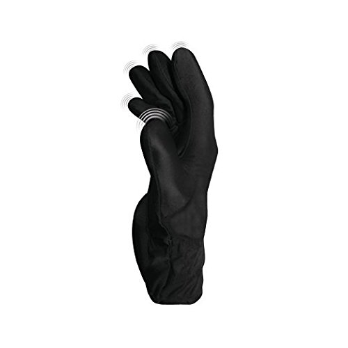 FUKUOKU-Gants-de-Massage-de-Lycra-avec-Vibrations-en-Noir