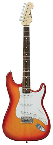 chord-cal63-cs-electric-guitar-cherryburst